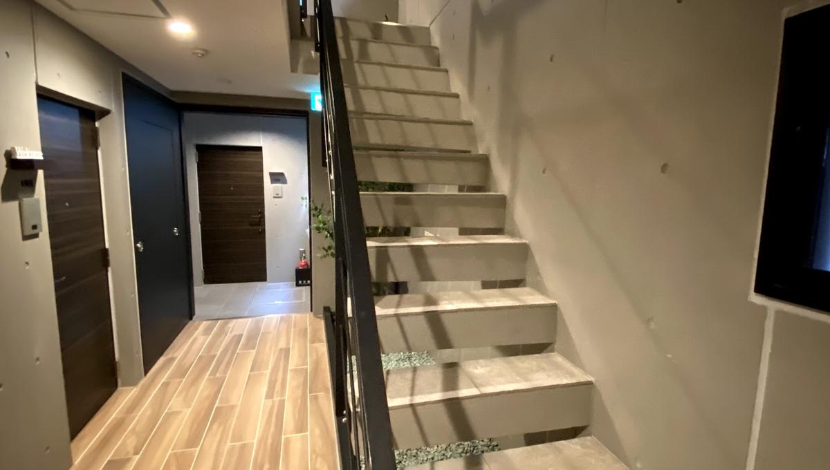 Coeur Blanc 大井町( クール ブラン オオイマチ )の階段