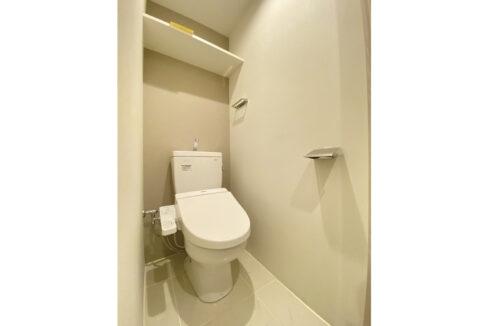 Coeur Blanc 大井町( クール ブラン オオイマチ )のウォシュレット付トイレ