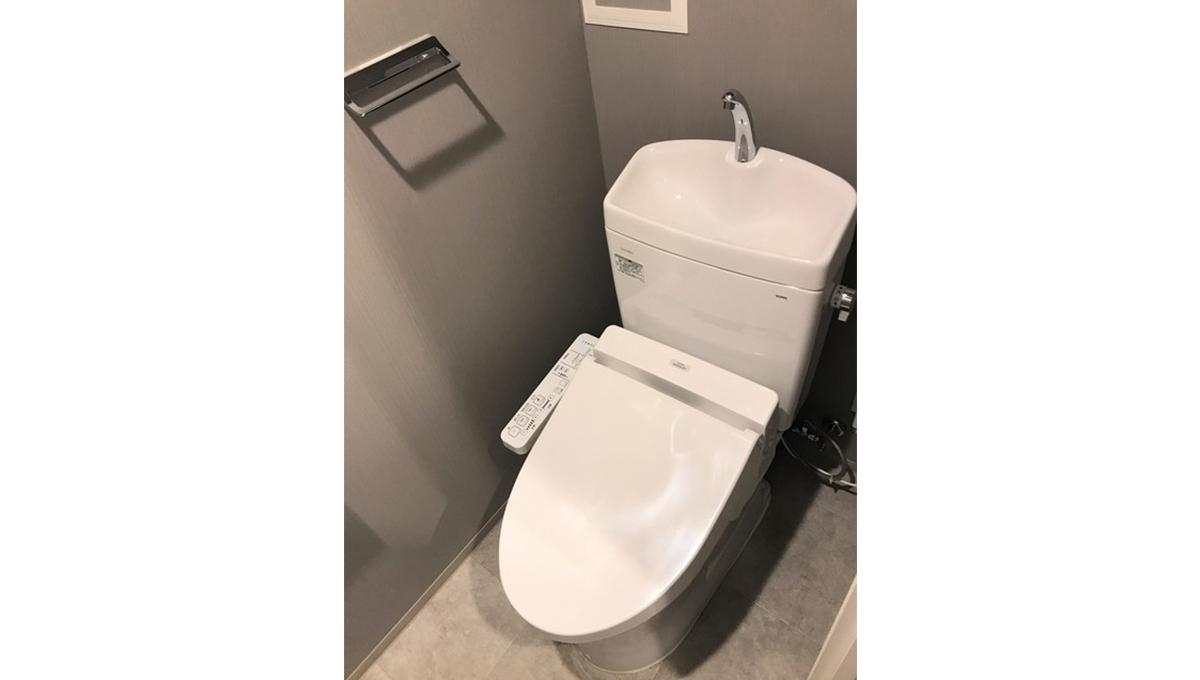 コスモグラシア 学芸大学(ガクゲイダイガク)のウォシュレット付トイレ