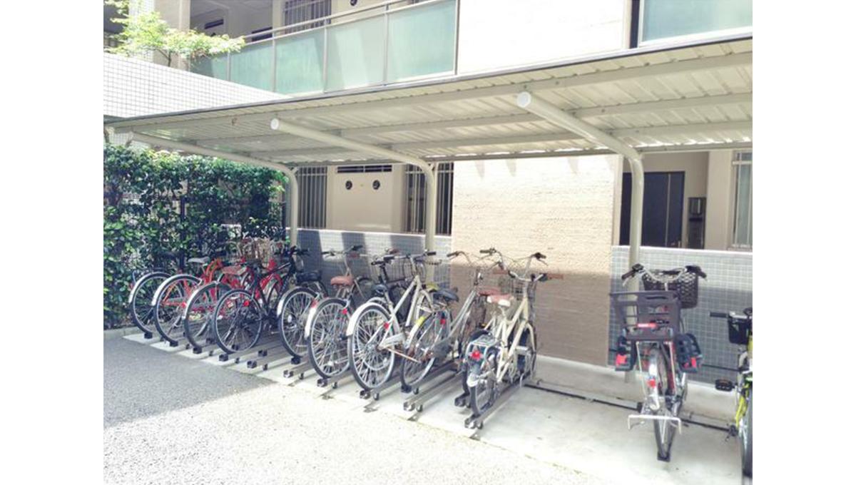 ガーデン目黒平町( メグロ タイラマチ )の駐輪場