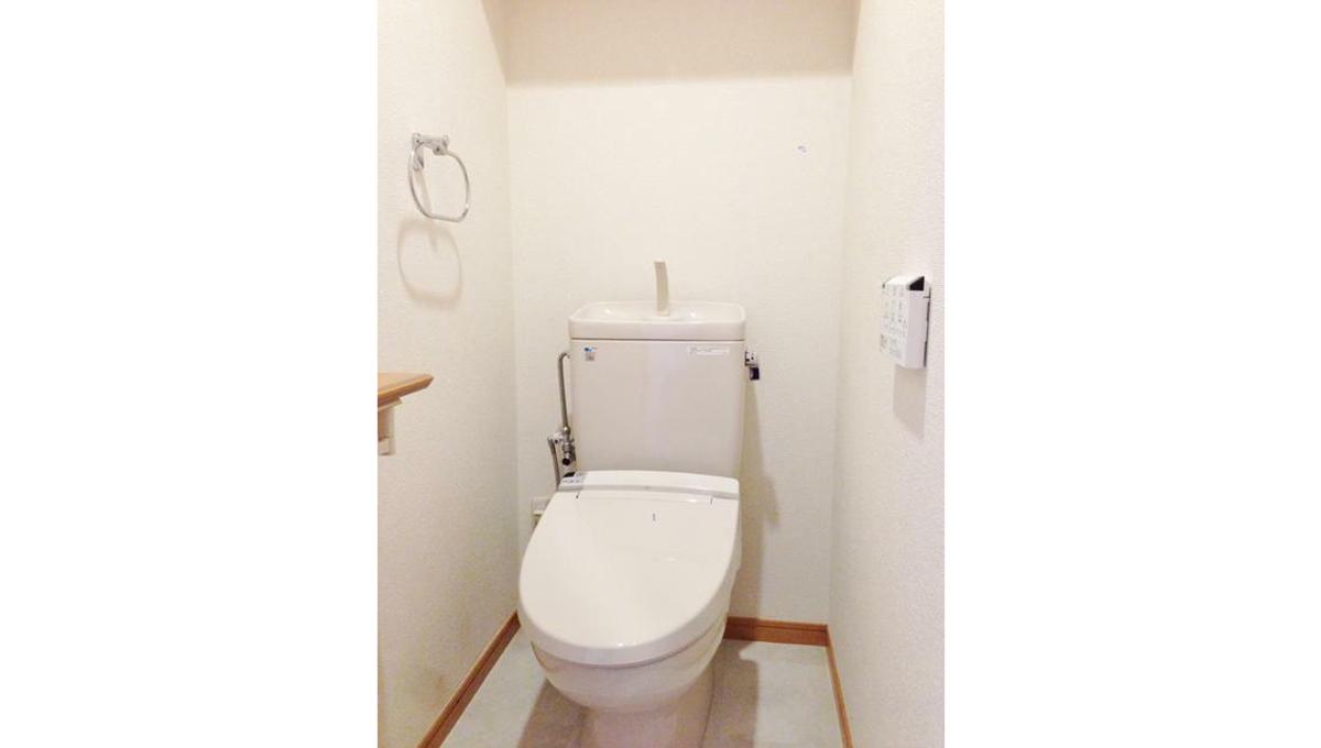 ガーデン目黒平町( メグロ タイラマチ )のウォシュレット付トイレ