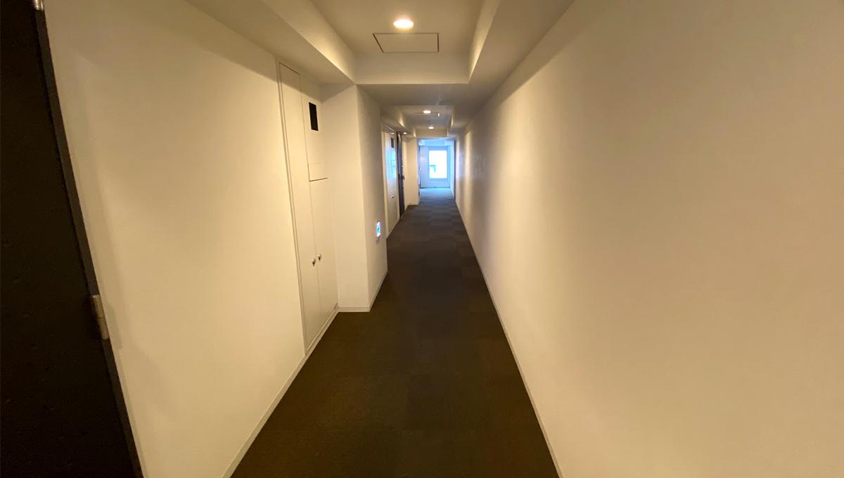 ヒューリック 荏原(エバラ)の内廊下