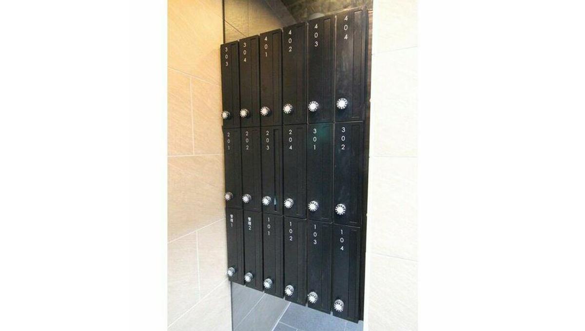 MDM 白金台(エムディーエム 白金台)のメールボックス