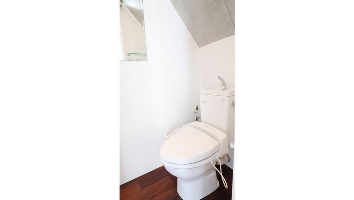 ニューメゾネット 白金台( シロカネダイ )のウォシュレット付トイレ