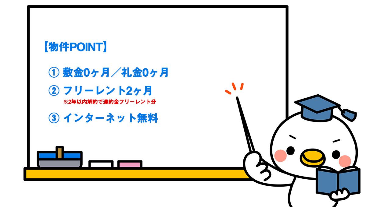 PASEO武蔵小山(パセオ ムサシコヤマ)Ⅱの物件ポイント