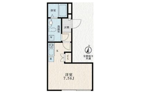 SOLASIA residence 尾山台(ソラシア レジデンス オヤマダイ)の間取図