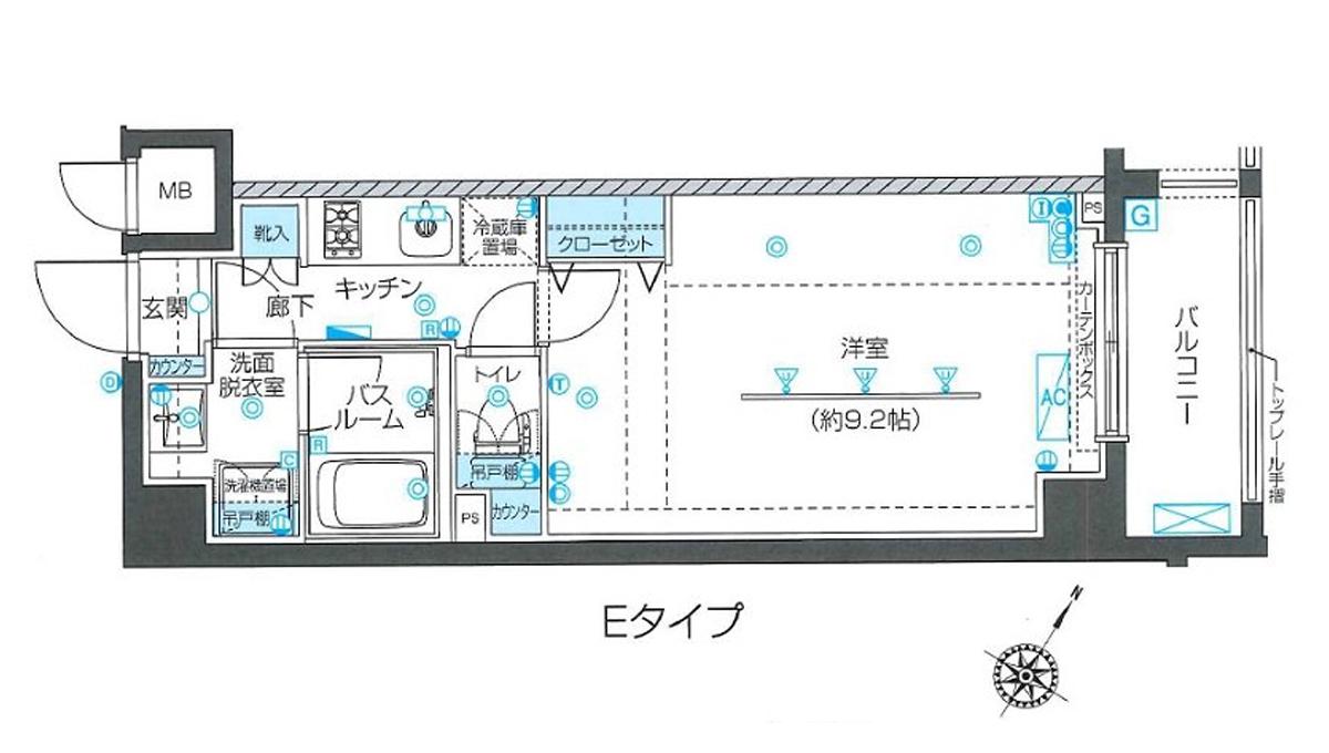 ZOOM 目黒不動前(ズーム メグロ フドウマエ)の間取図