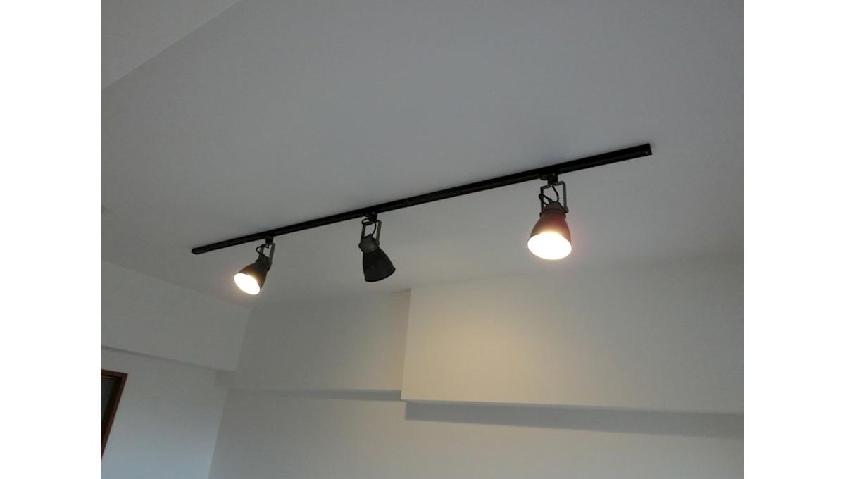 ZOOM戸越銀座(ズーム トゴシギンザ)のレールライト照明