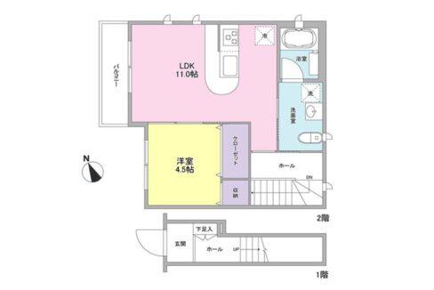 CASA TOKIWA( カーサ トキワ )の間取図