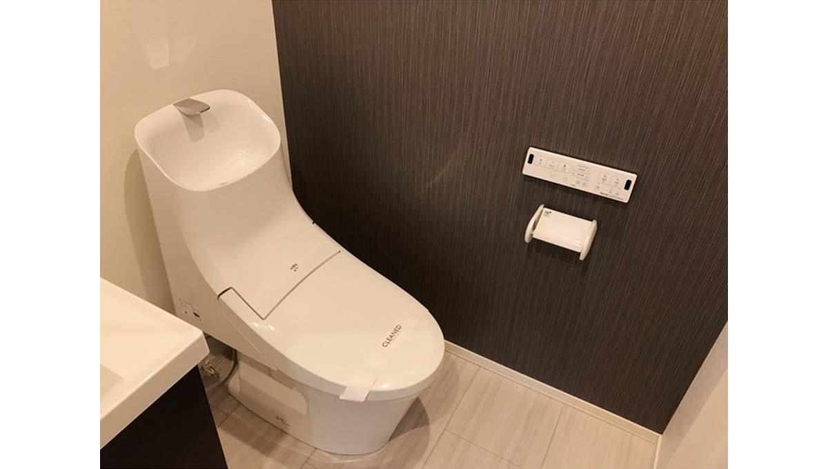 CASA TOKIWA( カーサ トキワ )のウォシュレット付トイレ