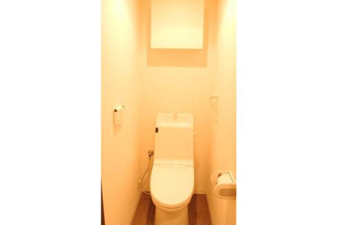 コリーヌ池田山( イケダヤマ )のウォシュレット付トイレ