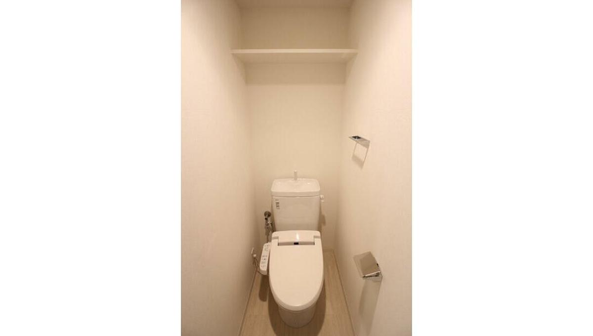 コンシェリア 品川中延(シナガワナカノブ)のウォシュレット付トイレ