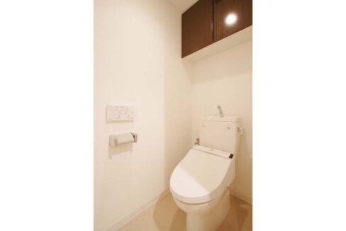 大井町 ハイツ( オオイマチ )のウォシュレット付トイレ