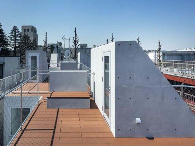 Ookayama Apartment( オオカヤマ アパートメント)の専用テラス