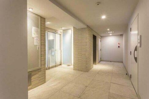 プラウドフラット 学芸大学Ⅱ ( ガクゲイダイガク ツー )のエレベーターホール
