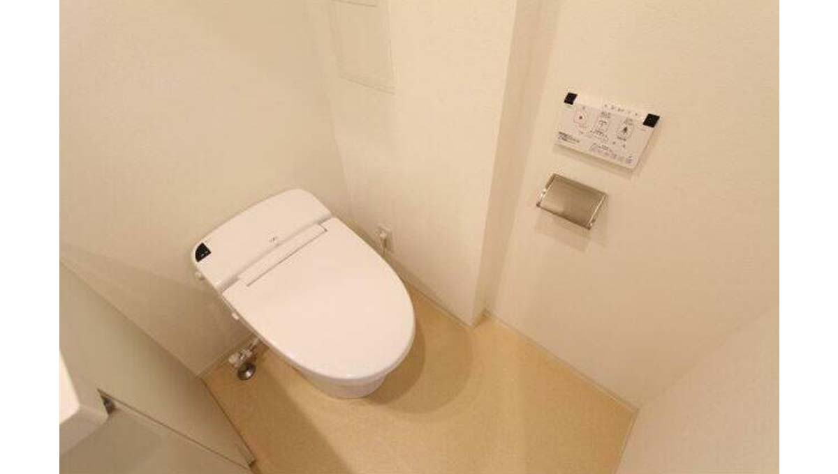 プラウドフラット 学芸大学Ⅱ ( ガクゲイダイガク ツー )のウォシュレット付トイレ