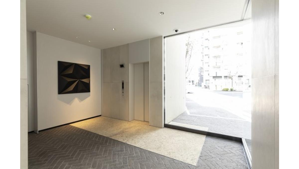 プラウドフラット 戸越銀座(トゴシギンザ)のエレベーターホール