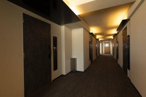 プラウドフラット 戸越銀座(トゴシギンザ)の内廊下