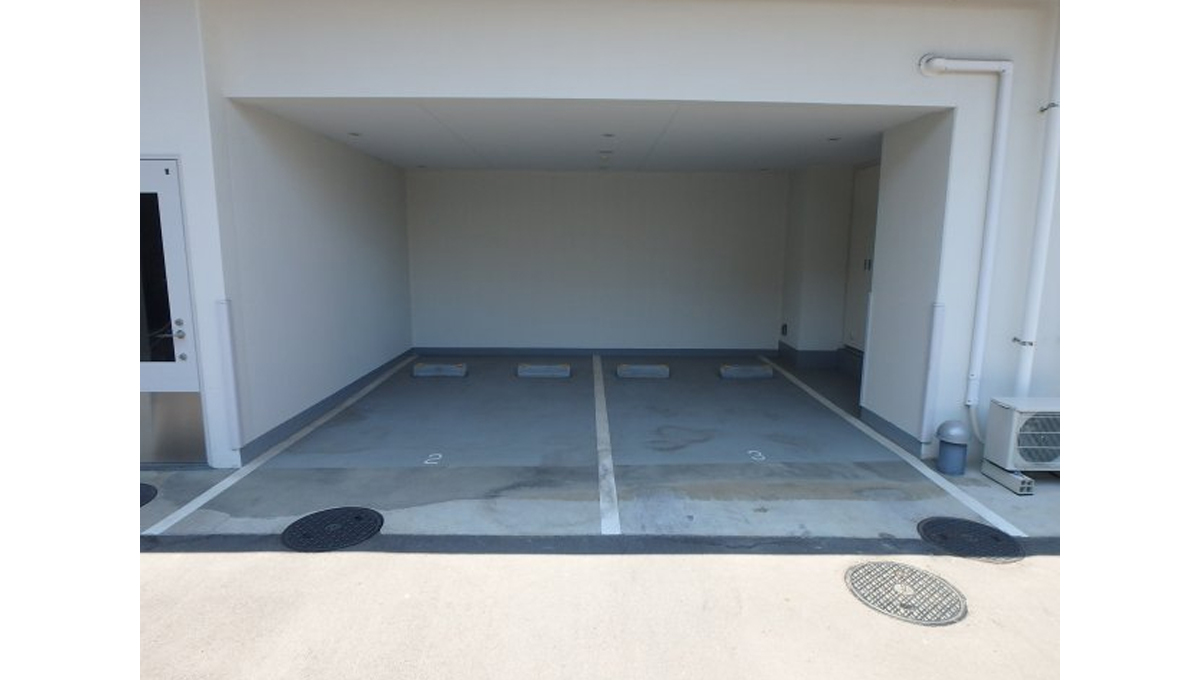 プラウドフラット 戸越銀座(トゴシギンザ)の駐車場