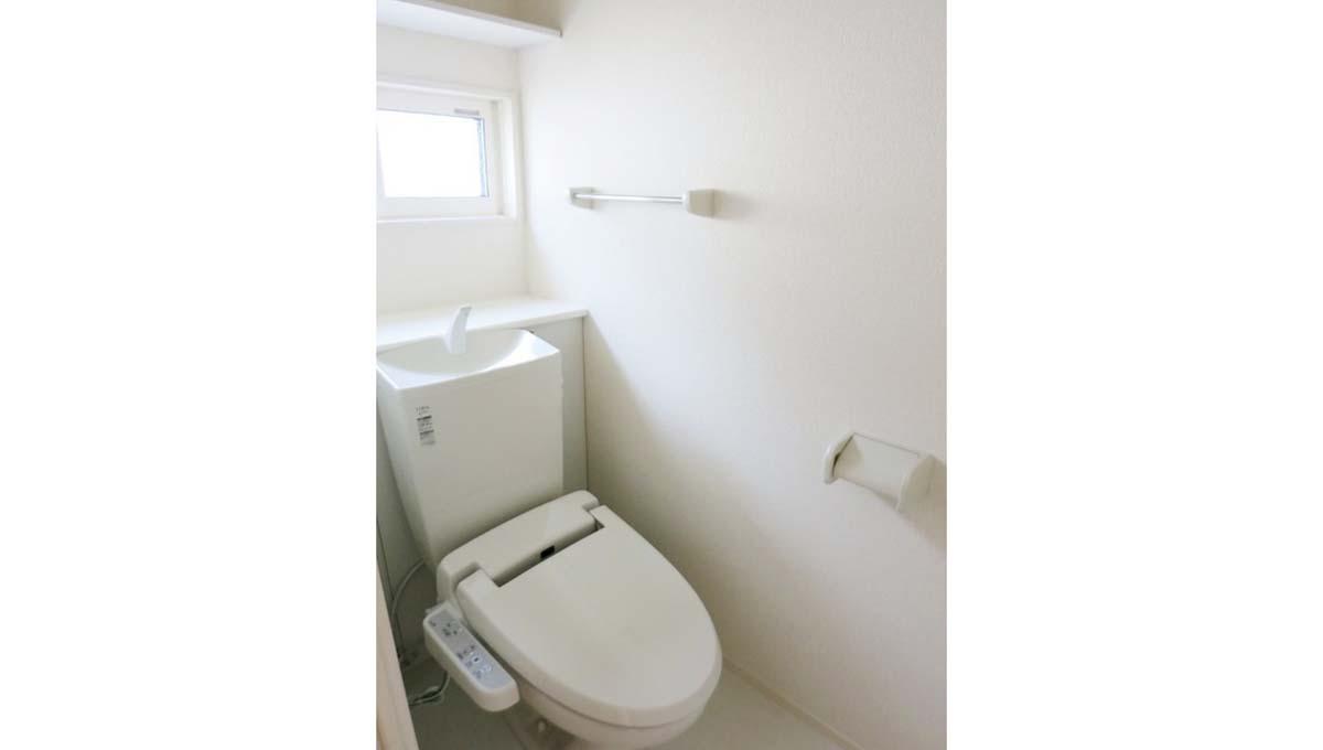 Ark 奥沢 B棟( アーク オクサワ )のウォシュレット付トイレ
