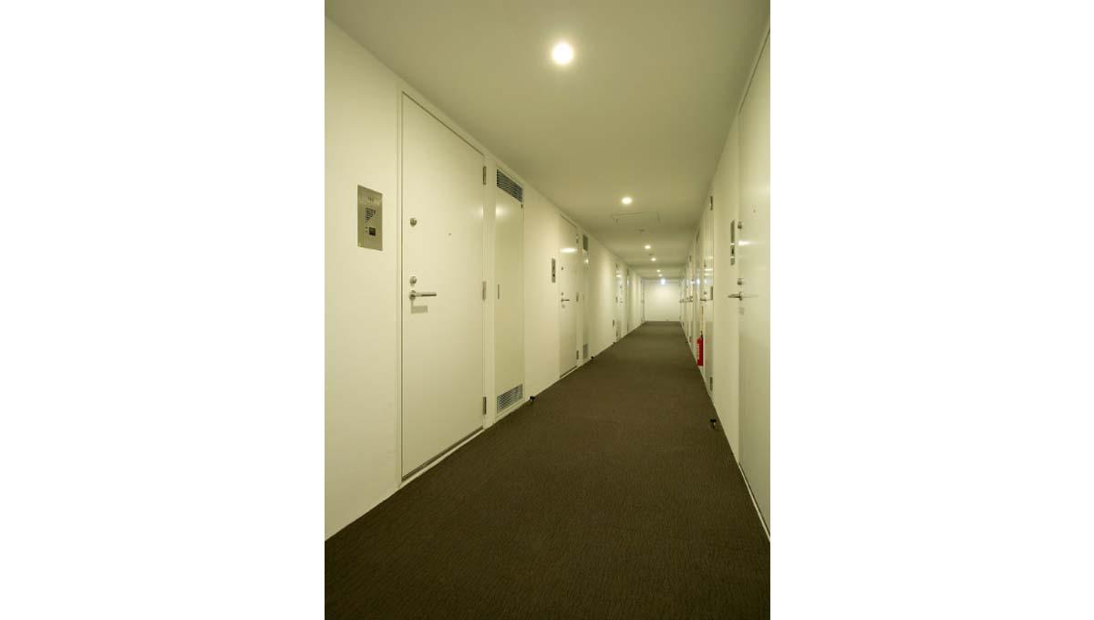 カスタリア 武蔵小杉( ムサシコスギ )の内廊下