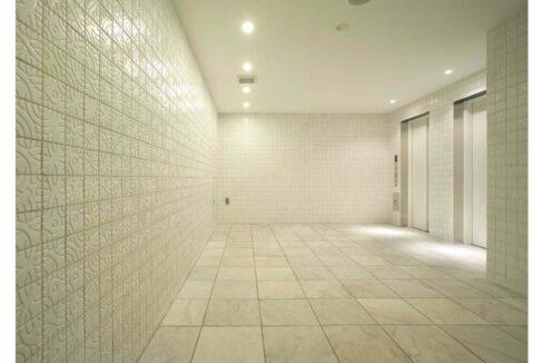 カスタリア 戸越(トゴシ)のエレベーターホール