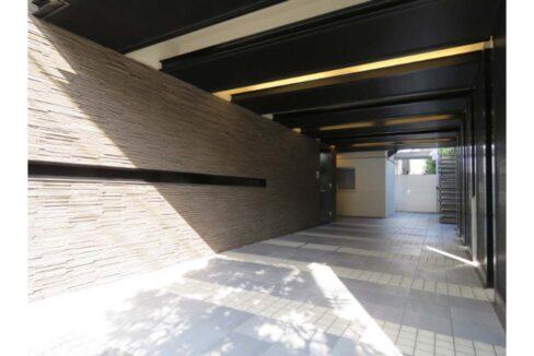 カスタリア 戸越駅前(トゴシエキマエ )のエントランスアプローチ