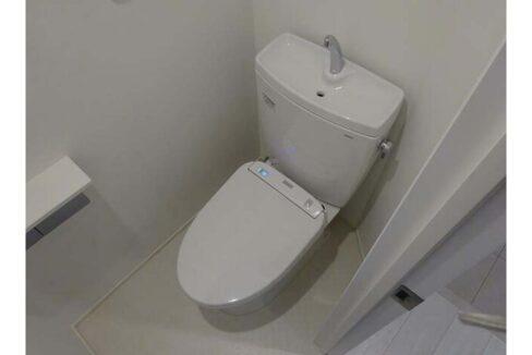シャレー学芸大カワベ第17( ジユウガオカ )のトイレ