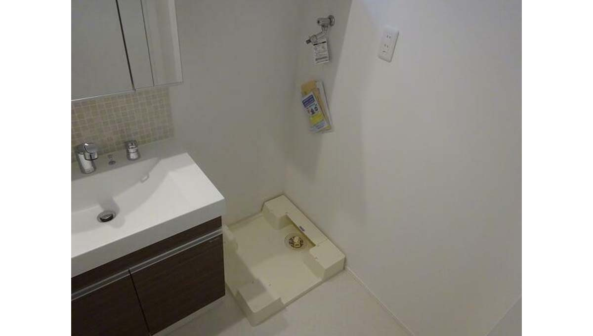 シャレー学芸大カワベ第17( ジユウガオカ )の独立洗面化粧台