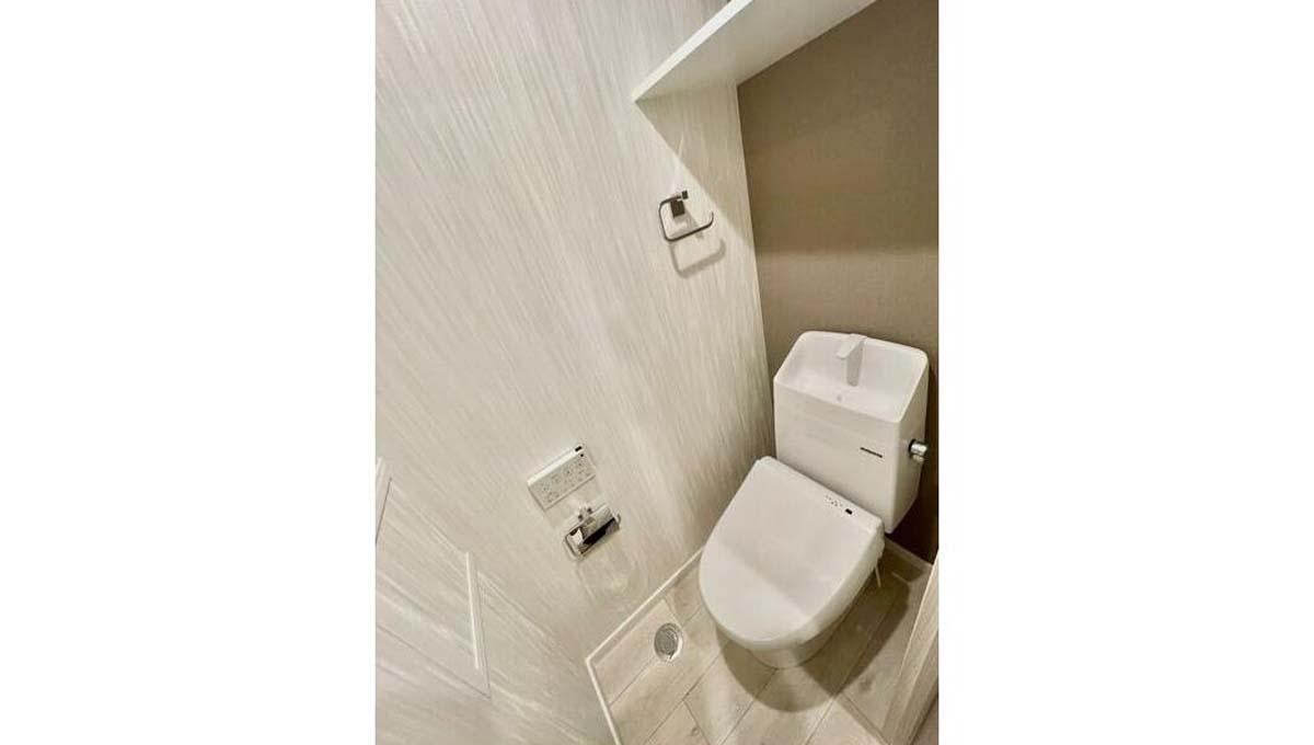 DEAR ECLASS TORITSUDAI ( ディア イークラス トリツダイ )のウォシュレット付トイレ