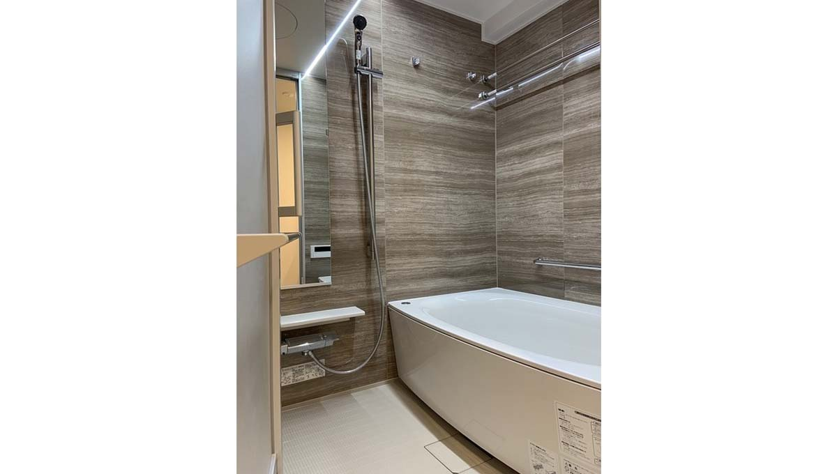 ドレッセ 美しが丘 フロント ( ウツクシガオカ )のバスルーム