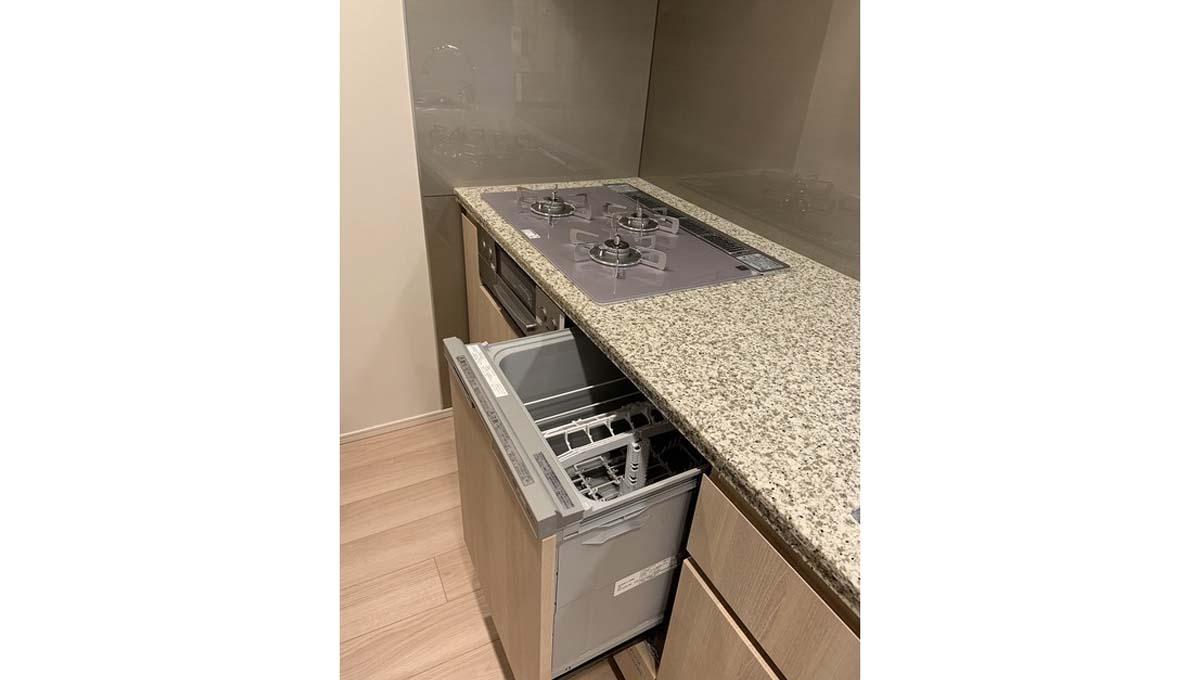 ドレッセ 美しが丘 フロント ( ウツクシガオカ )の食洗機