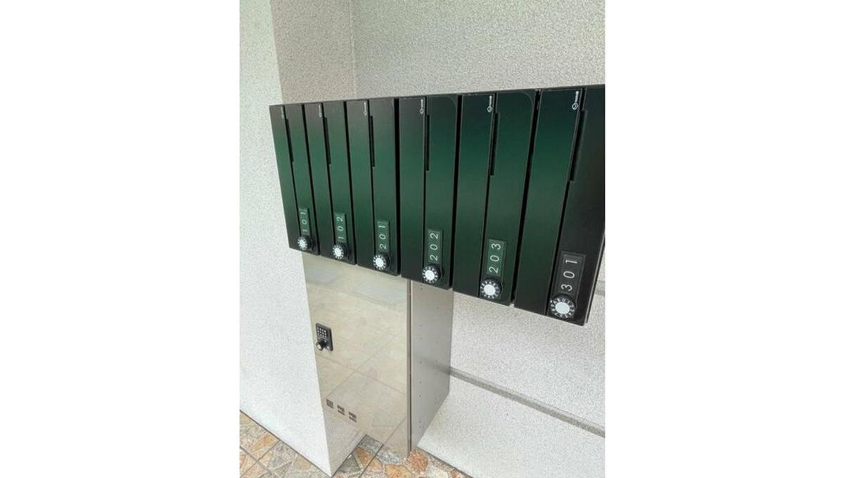 ECLUSE TOGOSHI( エクリューズ トゴシ )の宅配ボックス