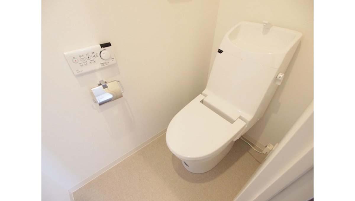 ガーデン 目黒( メグロ )のウォシュレット付トイレ