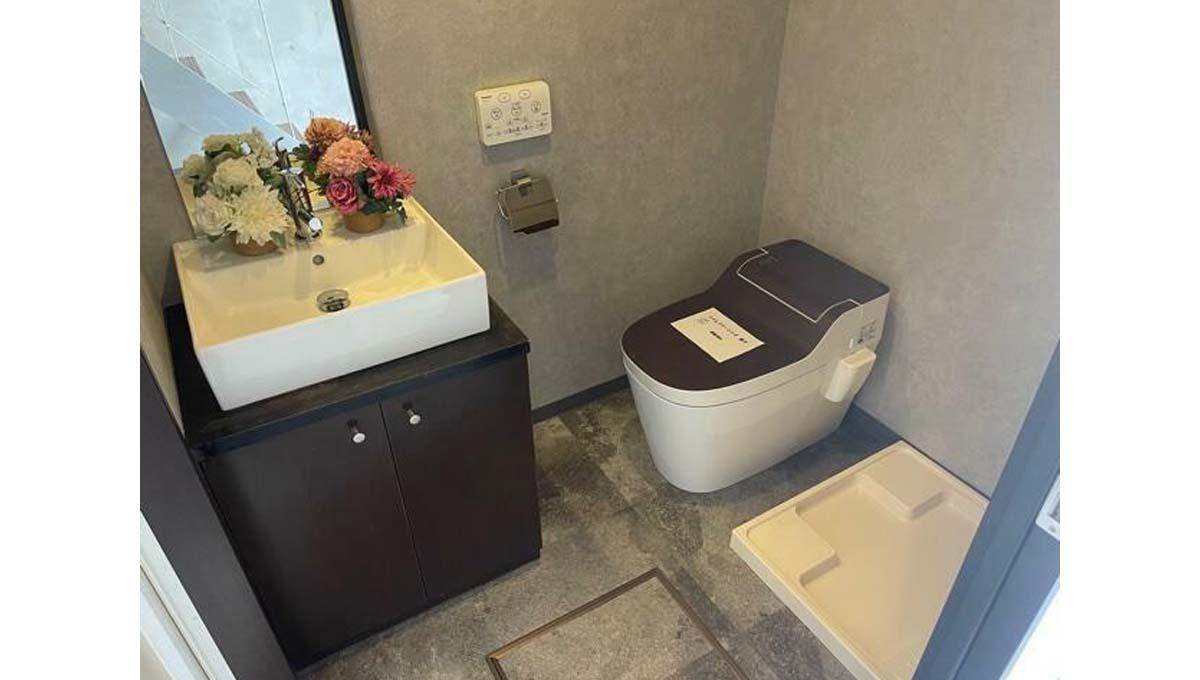 GRIS DE 白金台(グリド シロカネダイ )の独立洗面化粧台