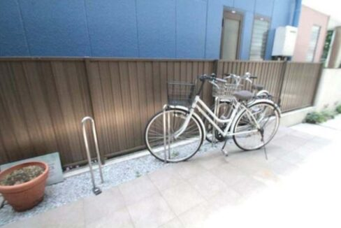 ハーモニーの駐輪場
