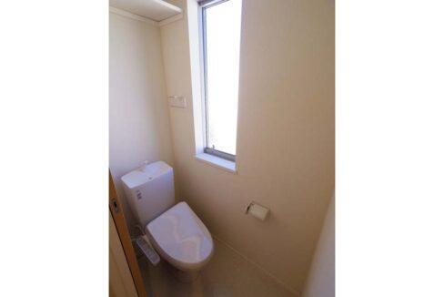 ヘーベルメゾン 大岡山(オオカヤマ)のウォシュレット付トイレ