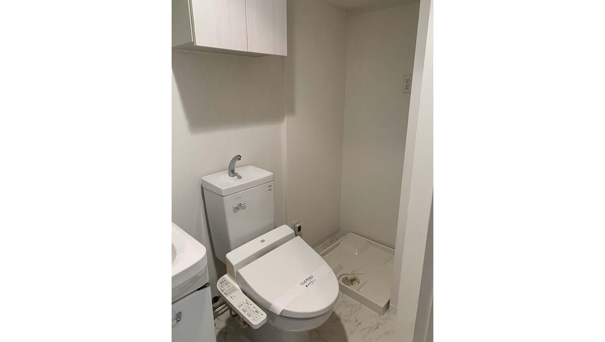KDX レジデンス 中延( ナカノブ )のウォシュレット付トイレ