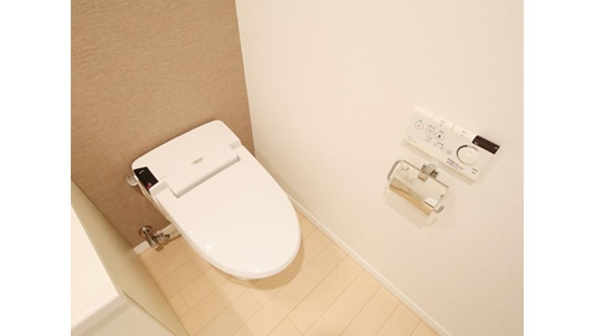 KDXレジデンス戸越(トゴシ)のウォシュレット付トイレ