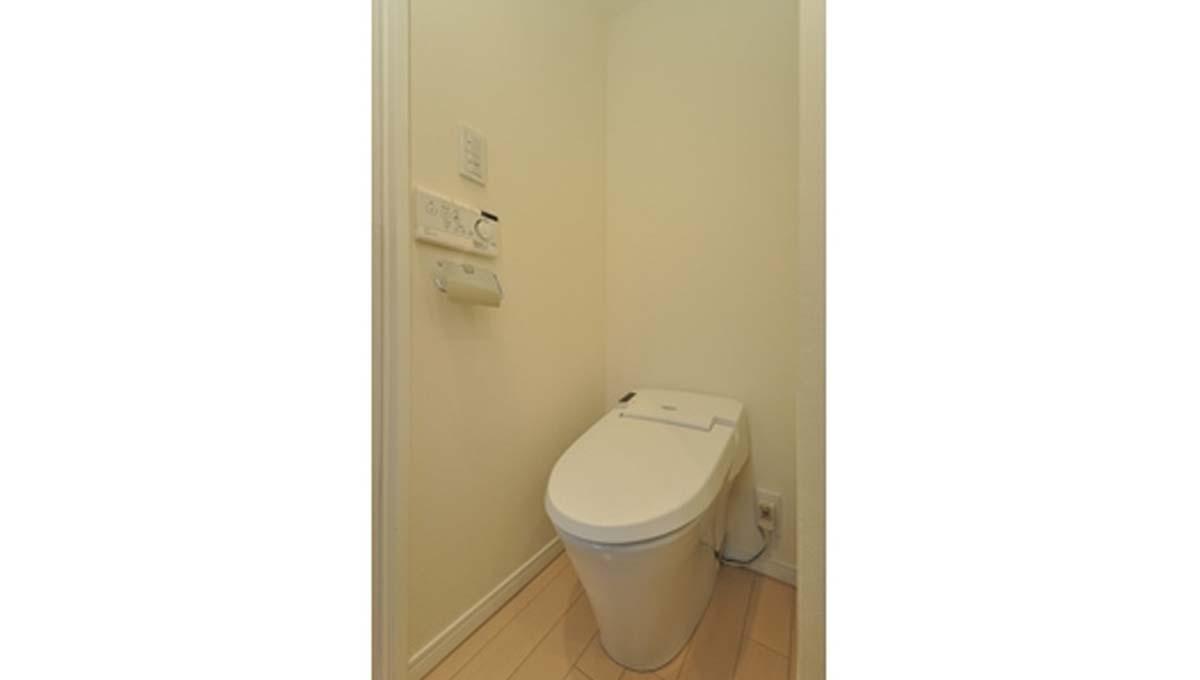 KDX レジデンス戸越(トゴシ)のウォシュレット付トイレ