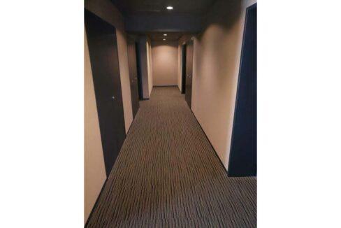 ラ・プラース ウエストの内廊下