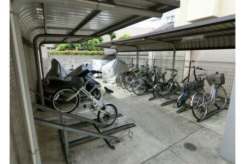 LASA 戸越Ⅰ(ラサ トゴシ 1)の駐輪場