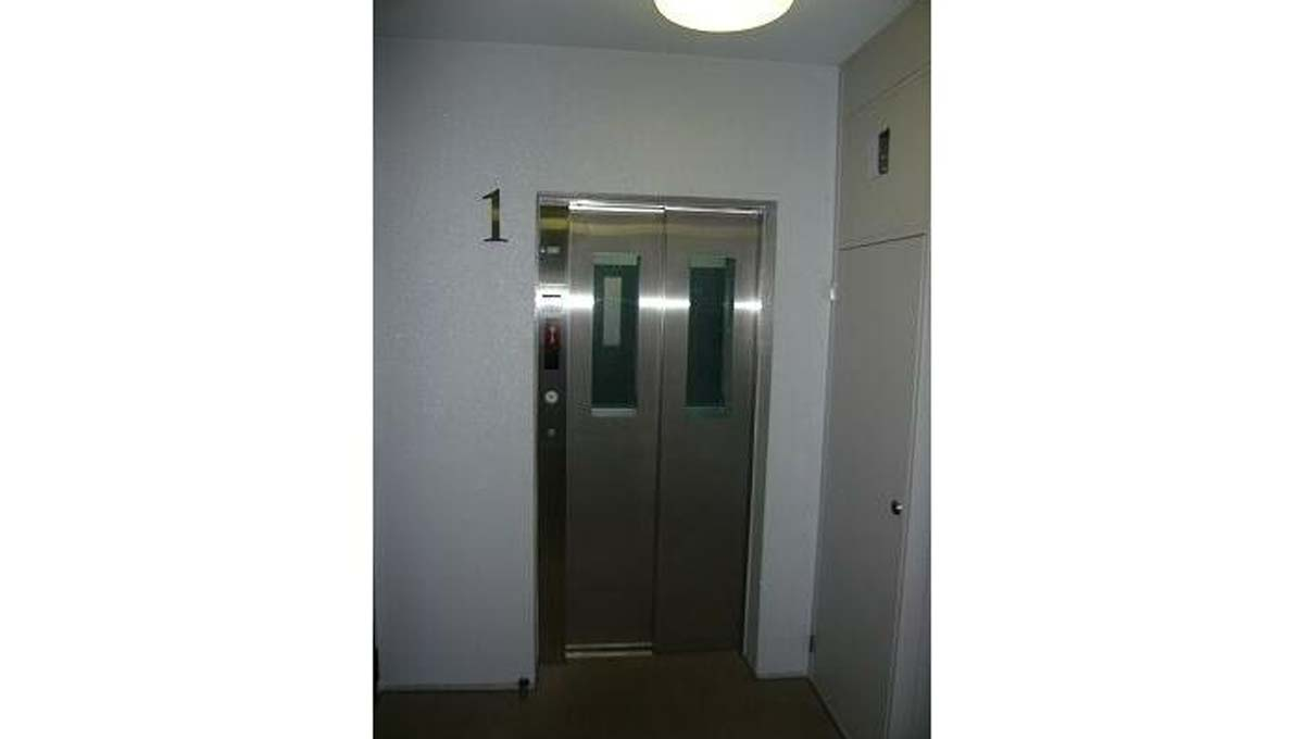 LASA 戸越Ⅱ(ラサ トゴシ 2)のエレベーターホール