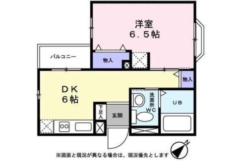 LASA 戸越Ⅱ(ラサ トゴシ 2)の間取図