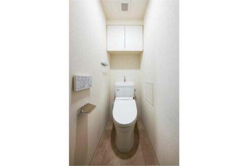 リビオメゾン 戸越銀座(トゴシギンザ)のウォシュレット付トイレ