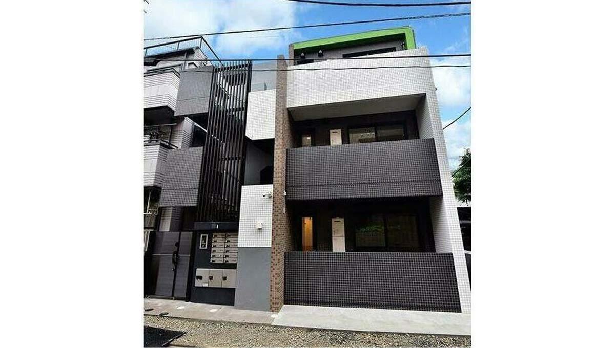 モダンアパートメント 武蔵小山( ムサシコヤマ )の外観
