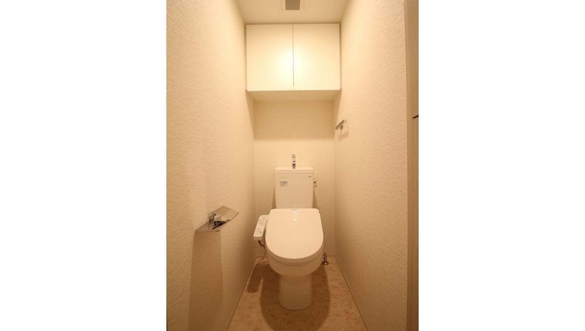 プレール ドゥーク 学芸大学Ⅱ( ガクゲイダイガク2 )のウォシュレット付トイレ