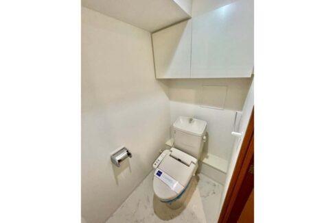 レジディア 大井町Ⅱ( オオイマチ 2)のウォシュレット付トイレ
