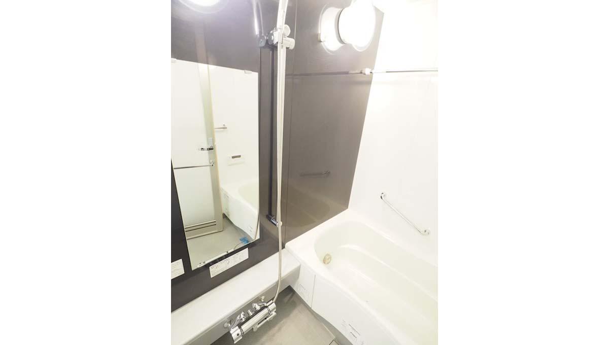 レジディアタワー 目黒不動前(メグロフドウマエ)のバスルーム