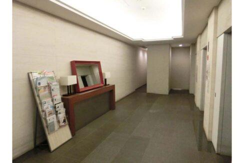 レジディアタワー 目黒不動前(メグロフドウマエ)のエレベーターホール